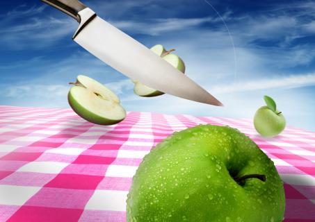 Dancing Food - Apple