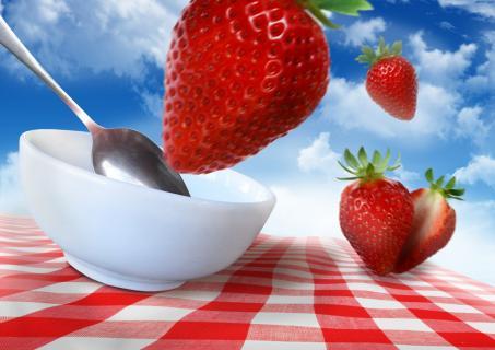 Dancing Food - Strawberry