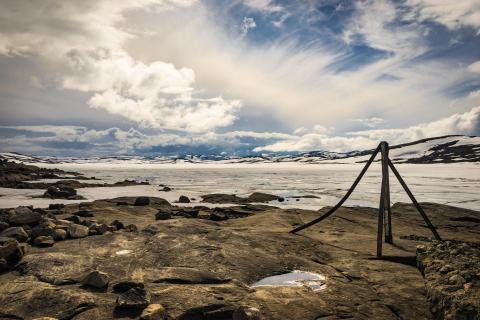 Eissee Norwegen