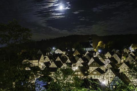 2018 Freudenberg Altstadt am Abend