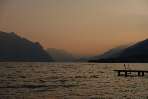 2018 Brenzone Lago di Garda um 6 Uhr