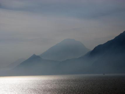 Lago di Garda der Silbersee