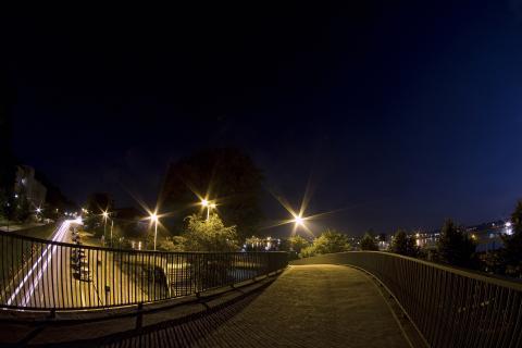 Staßen Nachtszene