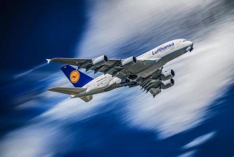 A380 im Steigflug