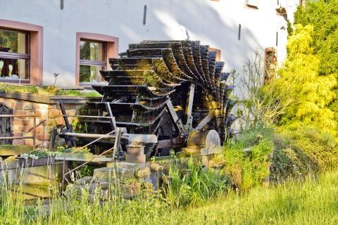 Wasserrad Aumühle