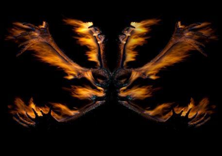 Burning Demon