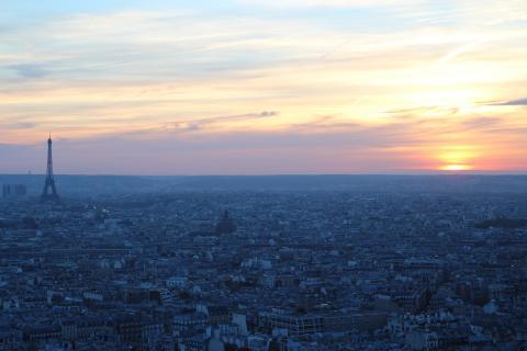 Herausragender Eiffelturm