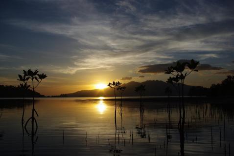 sunset Subic Philippines