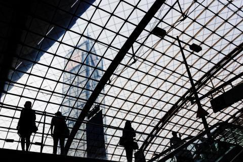 Gitterstrukturen mit Schatteneffekt des Lebens
