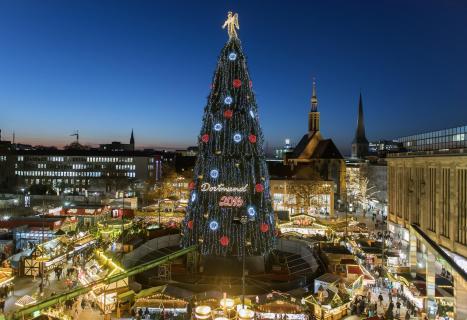 Der größte Weihnachtsbaum der Welt