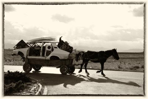 außergewöhnliche Transportmittel