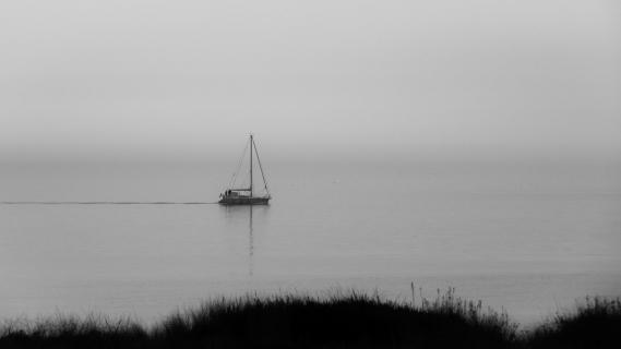 Einsam in der Nordsee
