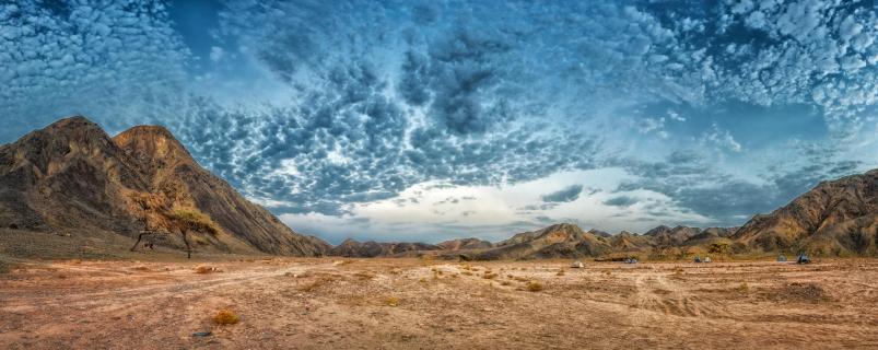 Wüstenpanorama