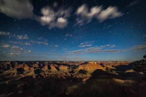 Grand Canyon bei Nacht