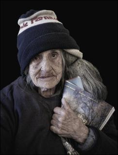 Old Lady from Santa Fe