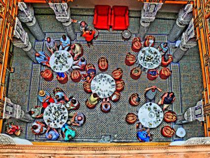 Restaurant in Marokko