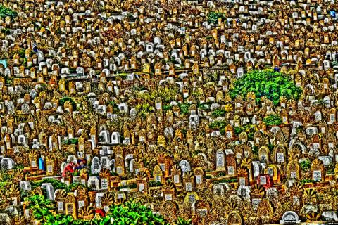 Friedhof in Marokko