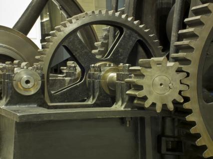 Zahnrad, Druck, Stahl, Maschine