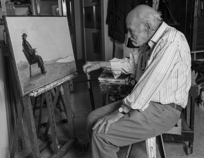 Der Maler und sein Bild