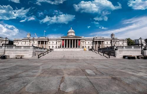 Trafalgar Square - National Gallery