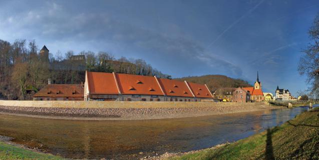 Winterpanorama 2015 - Gera - Untermhaus