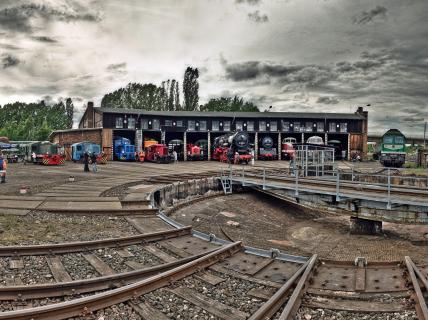 Historische Bahnwelt Gera