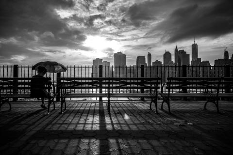 An evening in New York