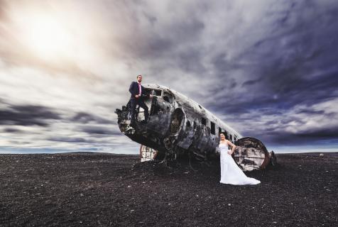 Landung auf Island