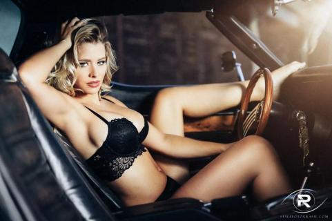 Hot Ride with Playmate Saskia