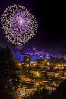 Feuerwerk Kronach