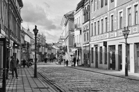 Altstadt, Kaunas Litauen