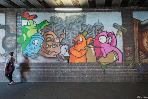 Graffiti in Düsseldorf