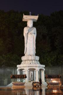 Buddha-Statue im Bongeunsa Tempel, Seoul