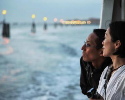 Sightseeing in Venedig