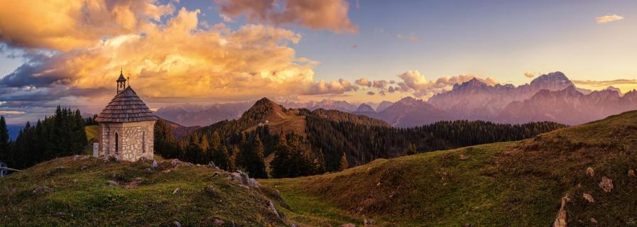 Julische Alpen (Panorama)