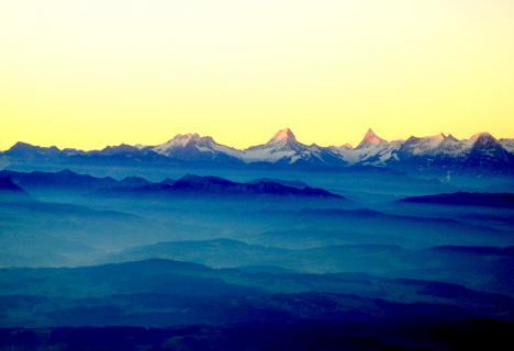 Den Alpen entlang
