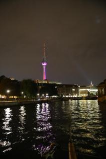 Berlin - Fernsehturm vom Wasser aus