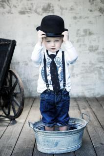 cool little man