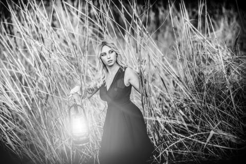 Das Licht führt mich durch die Dunkelheit