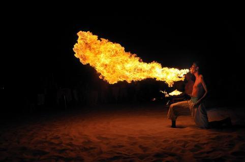 Djerba Feuerschlucker