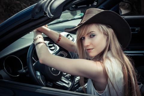 Mustang Girl