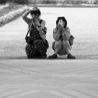 Tourists' Pose