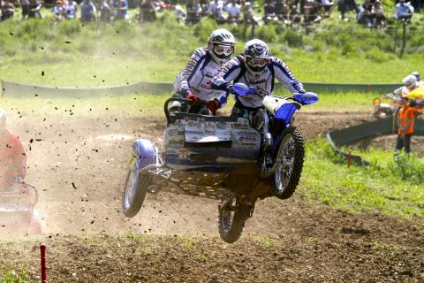Moto Cross Gespann