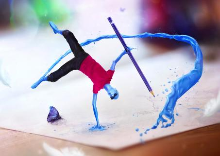 Pump Up The Color / Fotolia TEN Collection Contest
