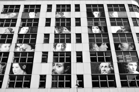 Fassade Ansicht Kunst