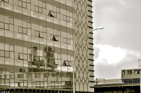 Gebäudespiegel