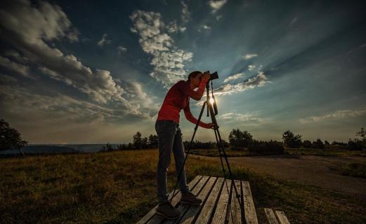 Nachtfotografin...