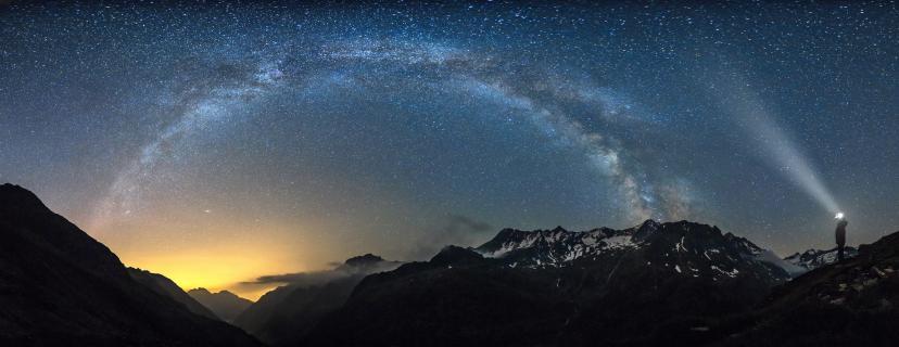 Mein Gott, es ist alles voller Sterne