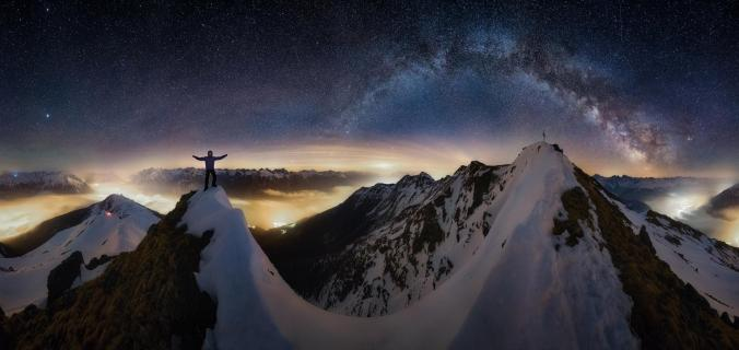 On the starry ridge
