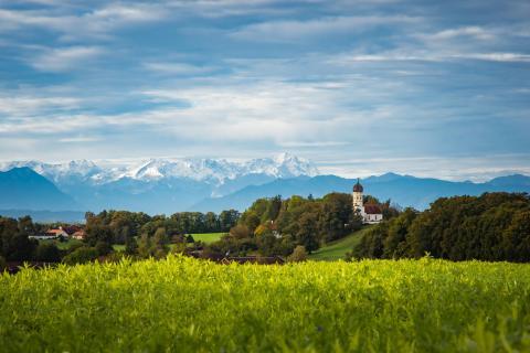 Oktoberlandschaft mit Zugspitze (1 von 1)